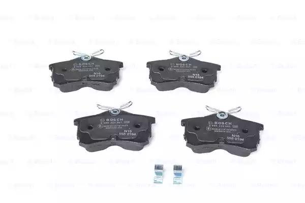 0 986 424 661 - Brake Pad Set, disc brake