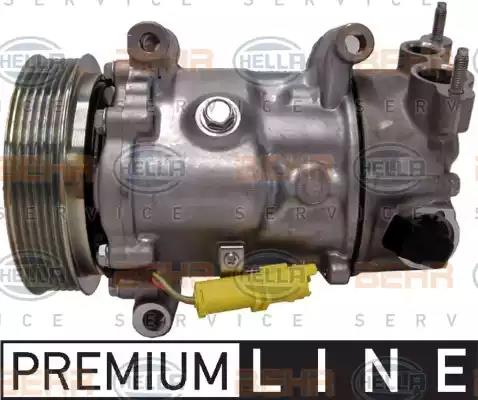 8FK351 340-081 - Compressor, air conditioning
