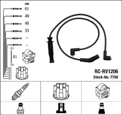 7708 - Ignition Cable Kit