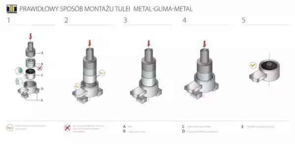 00726032 - Mounting, axle beam