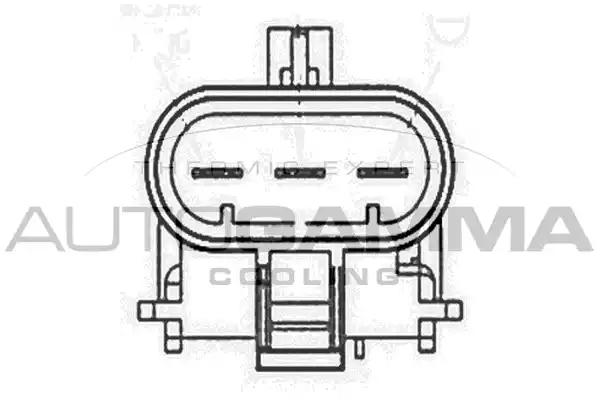 GA201840 - Fan, radiator