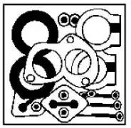 87618 - Mounting Kit, catalytic converter